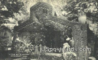 Little Bit o Heaven - Davenport, Iowa IA Postcard