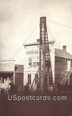 Reprodutction - Camery Carriage Shop 1885 - Misc, Iowa IA Postcard