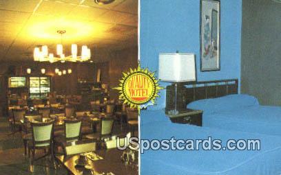 Quality Motel - Davenport, Iowa IA Postcard