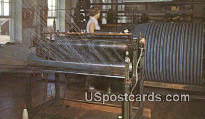 Woolen Mill - Amana, Iowa IA Postcard