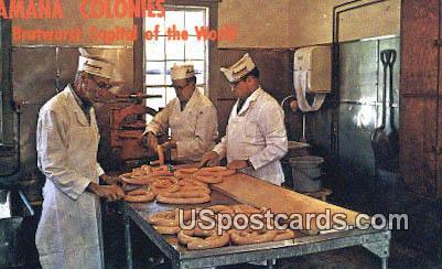 Amana Meat Shop - Iowa IA Postcard