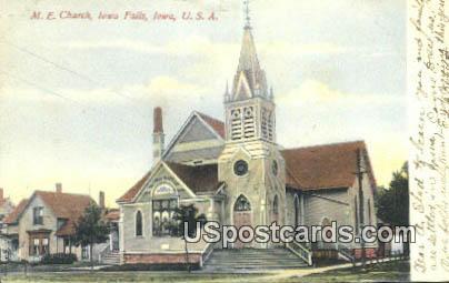 ME Church - Iowa Falls Postcards, Iowa IA Postcard