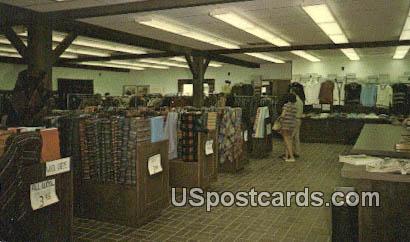 Amana Woolen Goods - Iowa IA Postcard