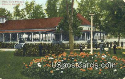 Park, Lake Manawa - Council Bluffs, Iowa IA Postcard