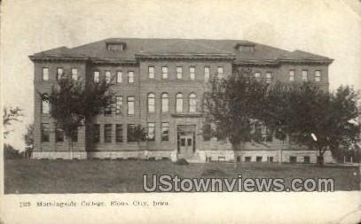 Morningside College - Sioux City, Iowa IA Postcard