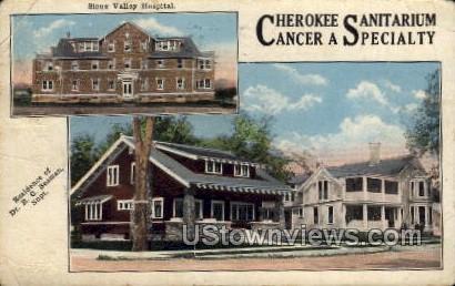 Cherokee Sanitarium - Sioux City, Iowa IA Postcard