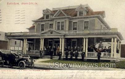 Elk's Club - Sioux City, Iowa IA Postcard