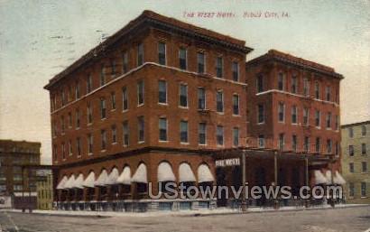 The West Hotel - Sioux City, Iowa IA Postcard