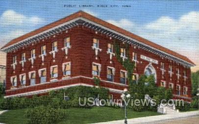 Public Library - Sioux City, Iowa IA Postcard