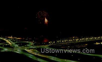 Annual Rivercade Celebration - Sioux City, Iowa IA Postcard