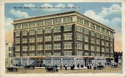 Martin Dry Goods Co., - Sioux City, Iowa IA Postcard