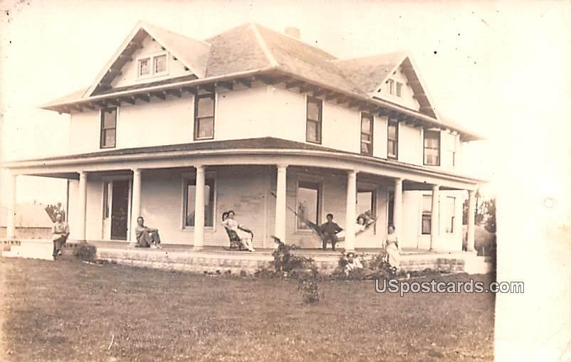 Bach Grove Stock Farm - Woodstock, Iowa IA Postcard