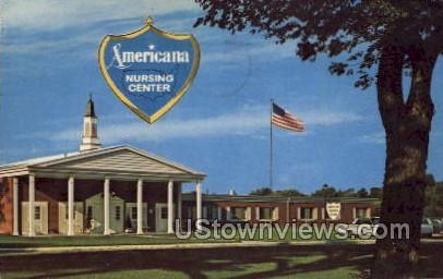 Americana Nursing Center - Waterloo, Iowa IA Postcard