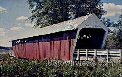 Imes Bridge - Winterset, Iowa IA Postcard