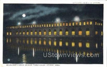Keokuk Power House - Iowa IA Postcard