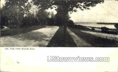 Park Point - Keokuk, Iowa IA Postcard