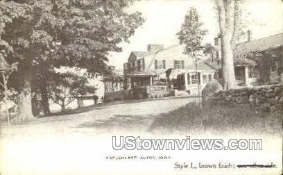 Maplehurst - Alton, Iowa IA Postcard