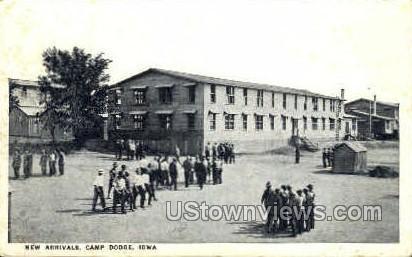 Camp Dodge - Iowa IA Postcard