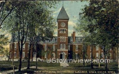 Ellsworth College - Iowa Falls Postcards, Iowa IA Postcard