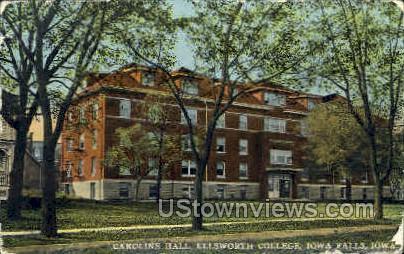 Ellsworth College - Iowa Falls Postcards, Iowa IA Postcard
