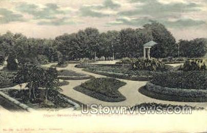 Flower Garden - Keokuk, Iowa IA Postcard