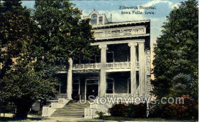 Ellsworth Hospital - Iowa Falls Postcards, Iowa IA Postcard