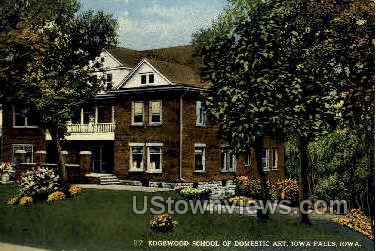 Edgewood School of Domestic Art - Iowa Falls Postcards, Iowa IA Postcard