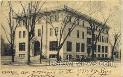 YMCA Building - Clinton, Iowa IA Postcard