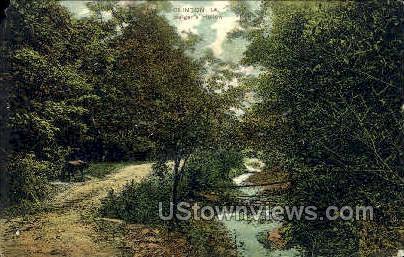 Bulgers Hollow - Clinton, Iowa IA Postcard