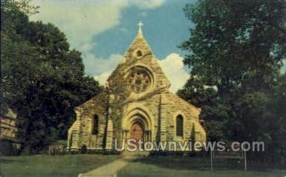 Trinity Episcopal Cathedral - Davenport, Iowa IA Postcard
