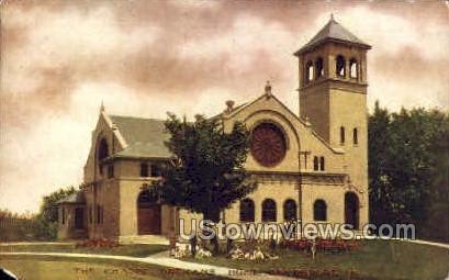 The Chapel Orphans Home - Davenport, Iowa IA Postcard