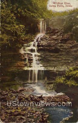 Wildcat Glen - Iowa Falls Postcards, Iowa IA Postcard