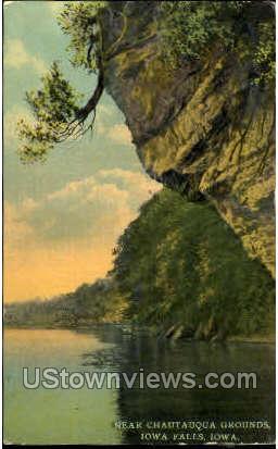 Chautauqua Grounds - Iowa Falls Postcards, Iowa IA Postcard