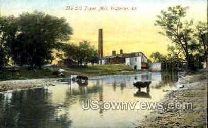 The Old Paper Mill - Waterloo, Iowa IA Postcard