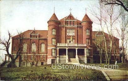 St. Joseph Hospital - Sioux City, Iowa IA Postcard