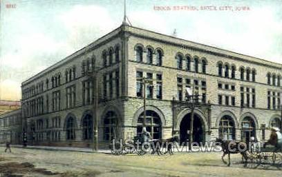 Union Station - Sioux City, Iowa IA Postcard