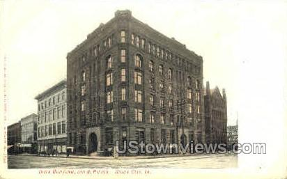 Iowa Building - Sioux City Postcard