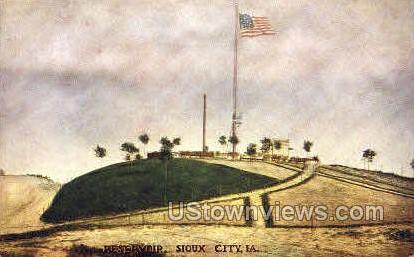 Reservoir - Sioux City, Iowa IA Postcard
