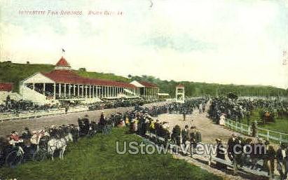 Interstate Fairgrounds - Sioux City, Iowa IA Postcard
