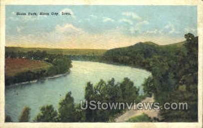 Stone Park - Sioux City, Iowa IA Postcard