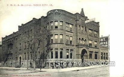 Y.M.C.A. Building - Sioux City, Iowa IA Postcard
