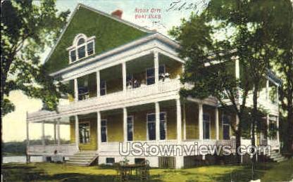 Boat Club - Sioux City, Iowa IA Postcard