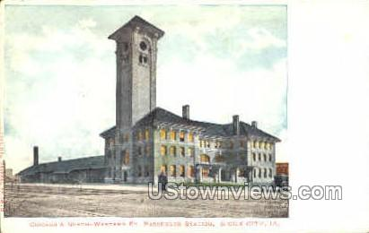 Western Passenger Station - Sioux City, Iowa IA Postcard