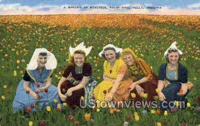 A Garden of Beauties - Pella, Iowa IA Postcard