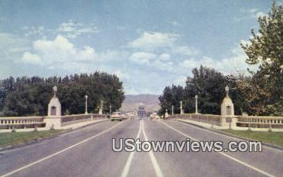 Memorial Bridge - Boise, Idaho ID Postcard