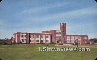 Boise Junior College - Idaho ID Postcard