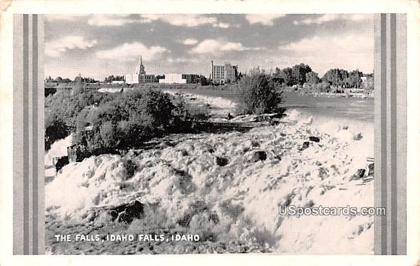 The Falls - Idaho Falls Postcards, Idaho ID Postcard