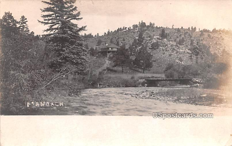 Water Scene - Misc, Idaho ID Postcard