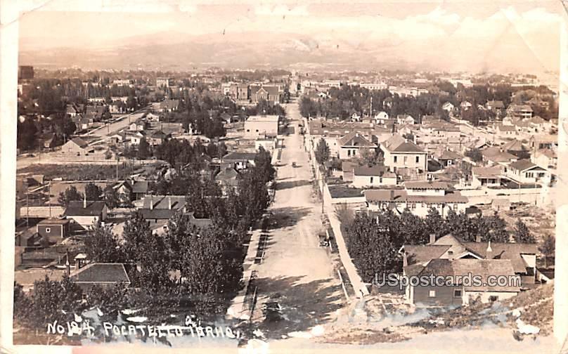 Air View - Pocatello, Idaho ID Postcard