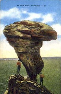Balanced Rock, Southern Idaho - Misc Postcard
